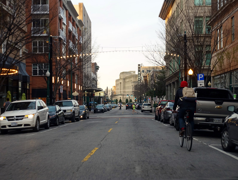 Riding Down Granby Street
