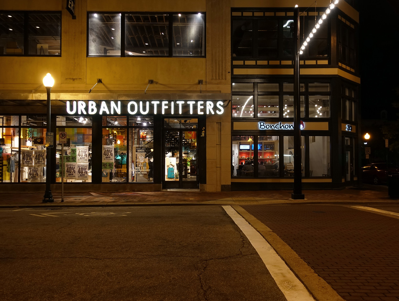 Urban Outfitters & Bonchon Restaurant