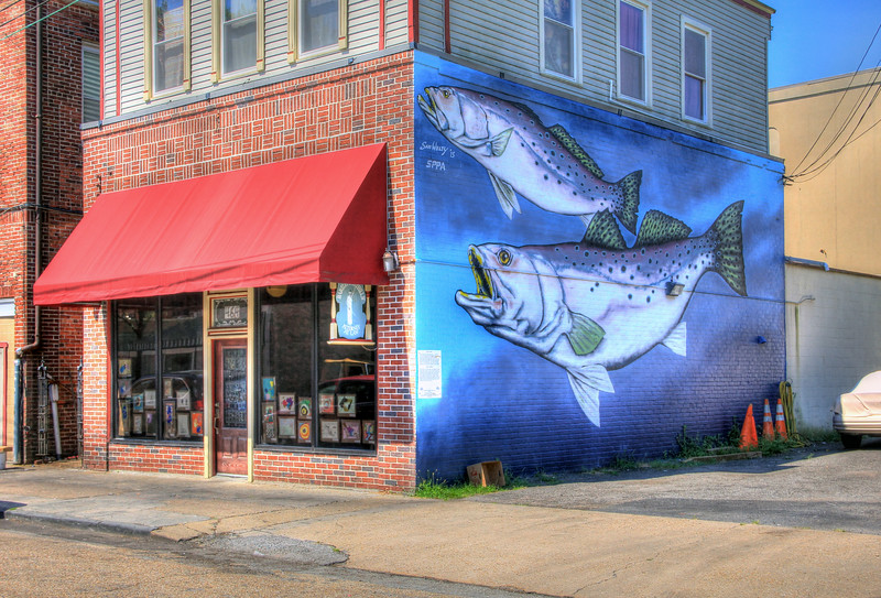 Sam Welty Mural - Portsmouth, Virginia