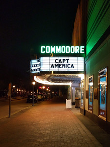 Commodore Theater on High Street