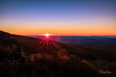 """Blue Ridge Sunrise"""