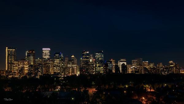 """Calgary's Skyline"""
