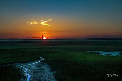 """Sunset Over the Savannah's"""