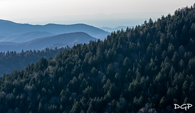 Clingman's Dome Looking West