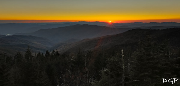 Star Burst Sunset