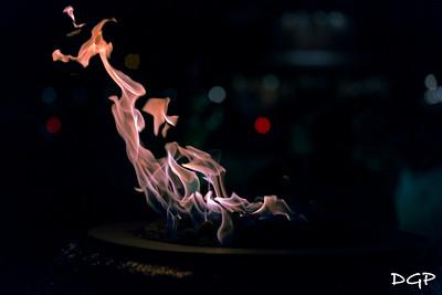 Fire Pit Bokeh