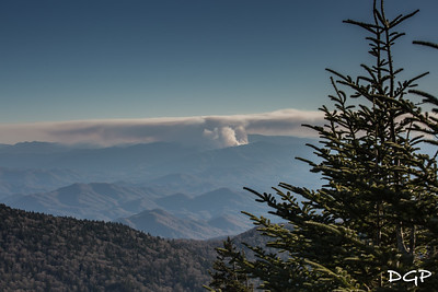 Forest Fire in the Smoky's