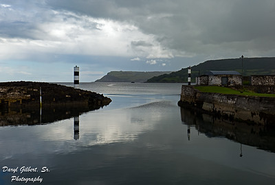 Larne Loch in the town of Carnlough