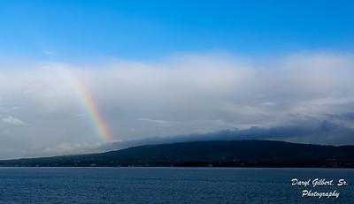 Rainbow over Belfast Harbor