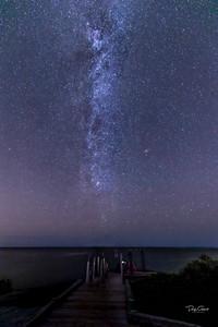 """Mosquito Lagoon Milky Way"""