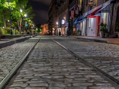 """The Cobblestones of River Street"""