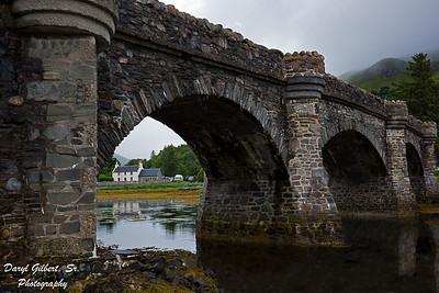 Stone Bridge to Eilean Donan Castle