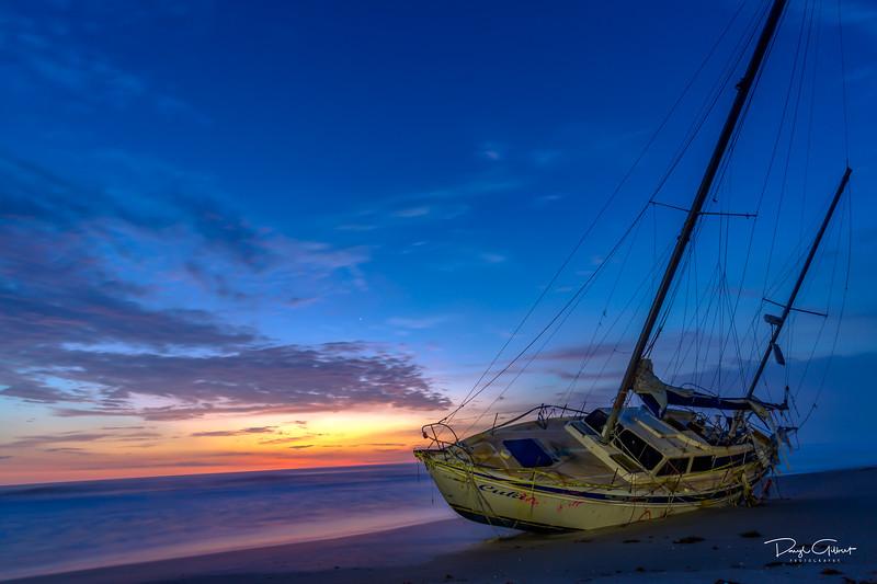 """Ghost Ship"" Sunrise"