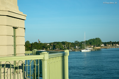 View of St. Augustine Lighthouse from the Bridge of Lions