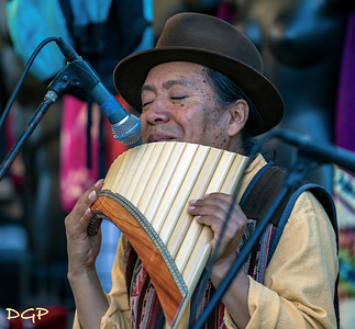 Quichua Mashis on the Pan Flute