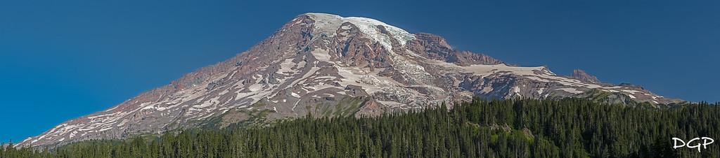 Mount Rainier from Inspiration Point - 4 Photographs
