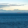 Puget Sound and the Olympic Mountain Range