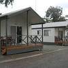 Our very comfortable cabin at West Wyalong no 2