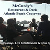 "McCurdy's Restaurant on the Atlantic Beach Causeway. The back deck overlooks Moonlight Bay. Great food...casual atmosphere <a href=""http://www.mccurdysrestaurant.com"">http://www.mccurdysrestaurant.com</a>"
