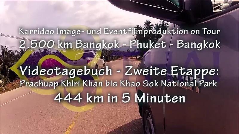 Thai Airways Einladung zur Thailand Rundreise Teil 2 - Highlights von Prachuap Khiri Khan bis Khao Sok Nationalpark - Karrideo Imagefilm Christian Weiße