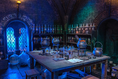 The Potions Dungeon