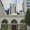 The Burhani Mosque, which is a Shi'ite mosque originally built in 1829 for the Bohra community in Singapore. Interesting, the Telephone House Exchange next door has some Islamic architectural facade. I would've taken a picture but the security guard was eyeing me suspiciously