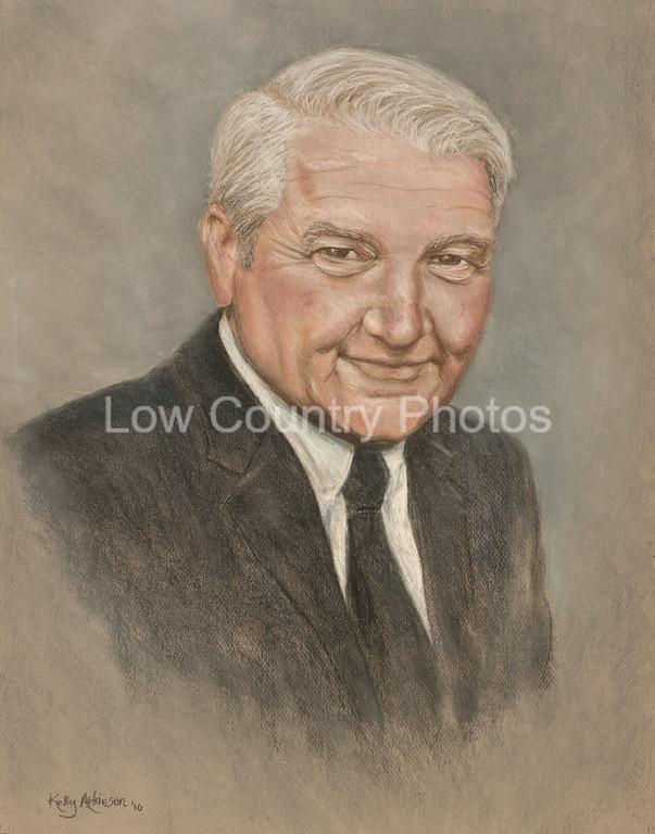 "Artist: Kelly Atkinson<br /> Commissioned Portrait<br /> E-mail: katkinson001@sc.rr.com<br /> Website: <a href=""http://www.studio94atpawleys.com/"">http://www.studio94atpawleys.com/</a>"