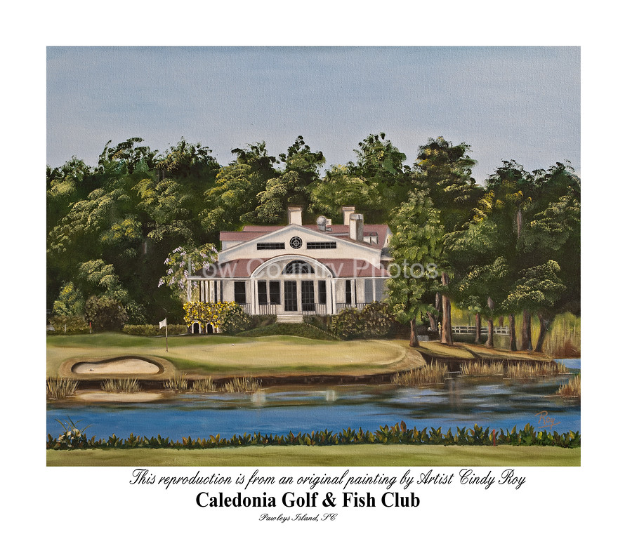 Artist: Cindy Roy<br /> Caledonia Golf and Fish Club<br /> E-mail: