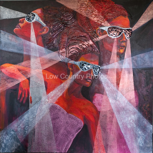 Artist: Carolyn Vaughan<br /> Dynamite with a Laser Beam<br /> E-mail: cvaughan@sc.rr.com