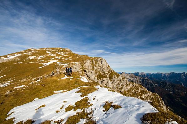 Gipfelkreuz des Großen Pyhrgas in Reichweite