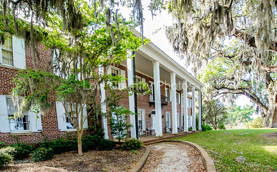 The Hobcaw Home in Hobcaw Barony, a 17500-acre wildlife refuge near Georgetown, SC