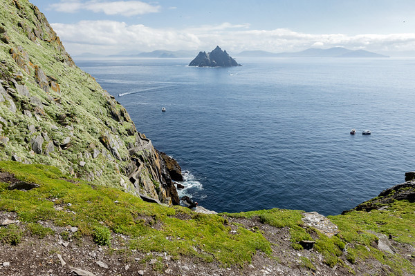 Little Skellig from Skellig Michael, may 2018