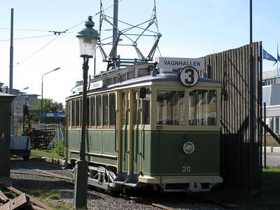 Museum street cars