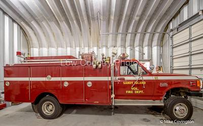 SAndy Island Fire Truck
