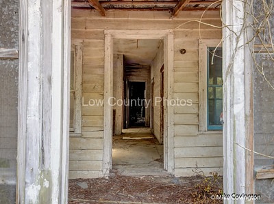 Abandoned Home Doorway
