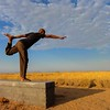 Sunrise Yoga in Namibia