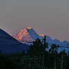 Sunset on Aoraki Mt Cook