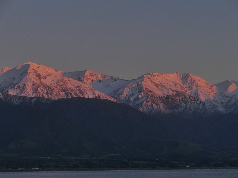 Sunrise, Kaikoura
