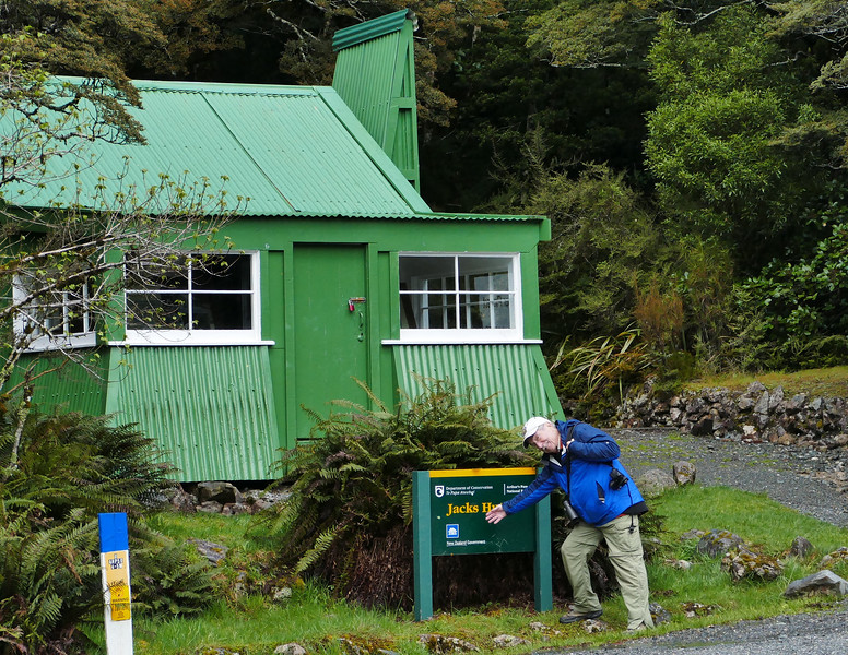 Jack & his hut