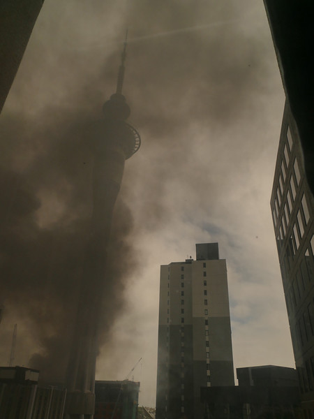 Auckland Convention Centre fire