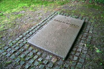 Grave of Karen Blixen