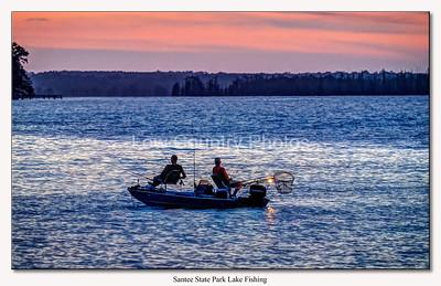 Santee State Park lake fishing
