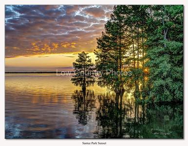 Santee Lake Sunset