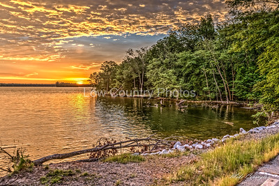 Lake Murray Sunrise at the park