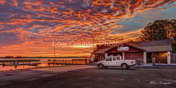Sunrise at Dreher Island State Park