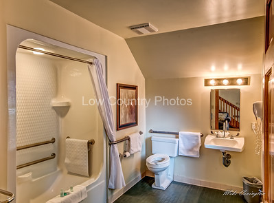 Downstairs bath - Large easy access
