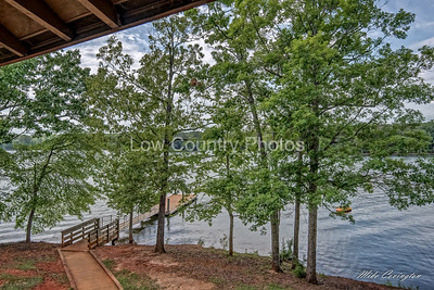 View of Lake Murray from Screened Porch