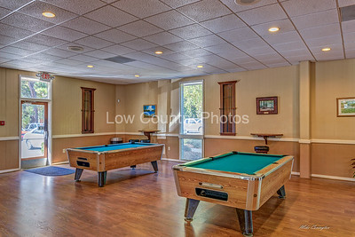 Pool Tables at Hickory Knob State Park