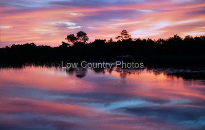 Marsh Sunrise MMSR001 Took this photo at Huntington Beach SC State Park in October. This is an early morning shot and I just happened to get lucky with the conditions. The Watermark will not show on printed images