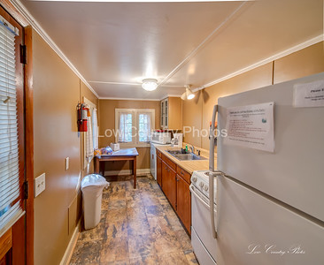 Cabin 14 kitchen at Oconee State Park